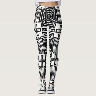 Invert Reflect Wallpaper Leggings