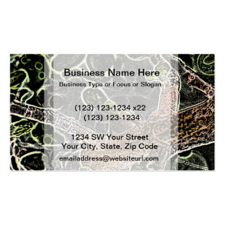 invert tree frog in tree painting cute animal business card template