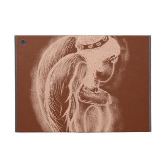 Inverted Angel - Copper Tones I Cover For iPad Mini