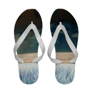 inverted beach sky neat abstract florida shore sandals