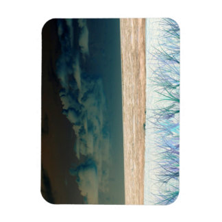 inverted beach sky neat abstract florida shore magnet