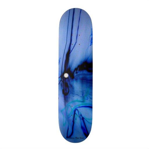 Inverted Mutant Space Rabbit Skate Board Deck