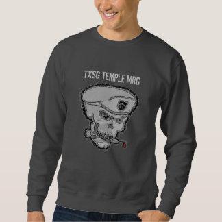 inverted skull TXSG TEMPLE MRG -sweatshirt Sweatshirt