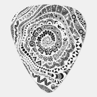 Inverted Tree of Tangles Guitar Pick