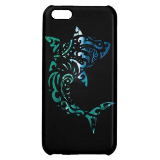 Inverted tribal shark iPhone 5C case