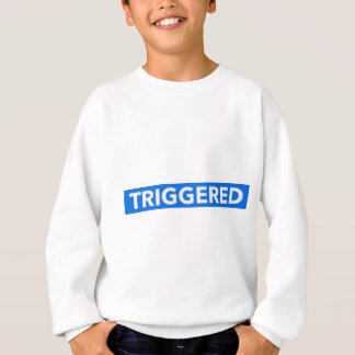 Inverted Triggered Text Sweatshirt