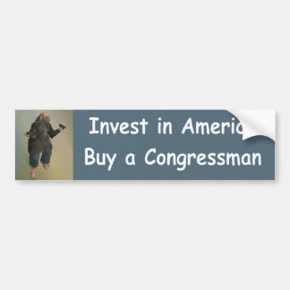 invest in america bumper sticker