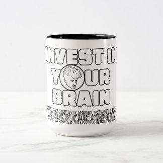 Invest In Your Brain Coffee Mug