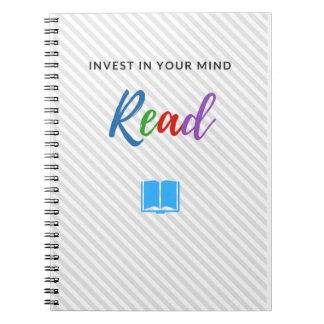 Invest In Your Mind - Notebook