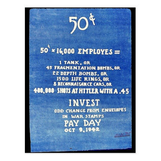 Invest Odd Change From Envelopes In War Stamps Pay Post Cards