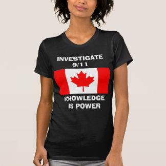 Investigate 9 11 - Basic Ladies T-Shirt