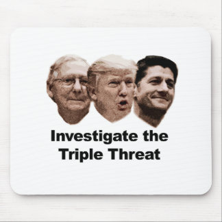 Investigate the Triple Threat Mouse Pad