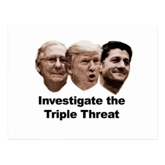 Investigate the Triple Threat Postcard