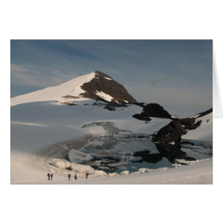 Investigating superglacial Lake Linda Card