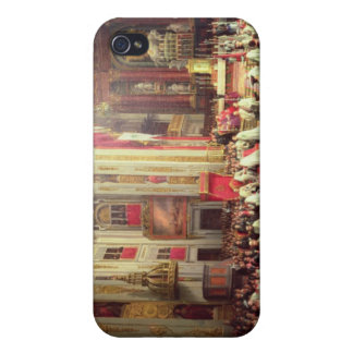 Investiture of King Alfonso XII iPhone 4 Cover