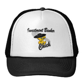 Investment Banker Chick #4 Mesh Hat