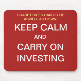 Investment Manager Gift Funny Stock Market Quote Mouse Pad
