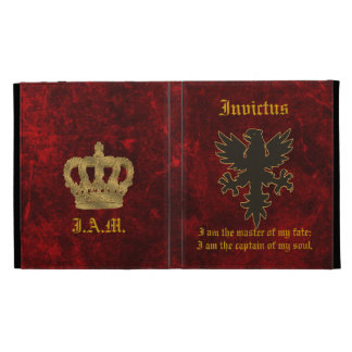 Invictus Eagle Custom Case iPad Folio Covers