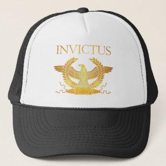 Invictus golden logo hat