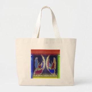 Invincible Helping Hands : Supernatural Spiritual Jumbo Tote Bag