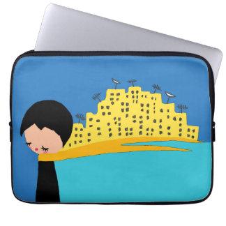 Invisible City Neoprene Laptop Sleeve (13 inch)