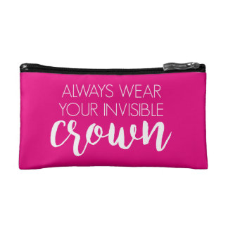 Invisible Crown Cosmetic Bag