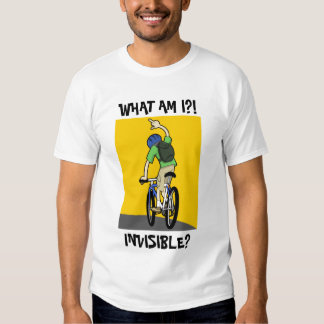 Invisible Cyclist T-Shirt