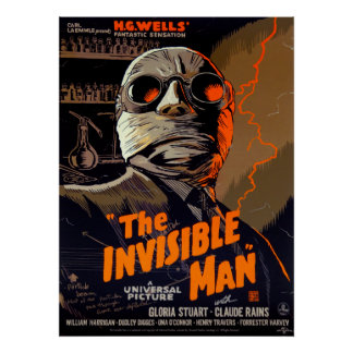 INVISIBLE MAN 1933 POSTER