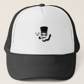 Invisible man trucker hat