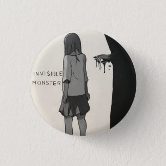 Invisible Monsters 3 Cm Round Badge