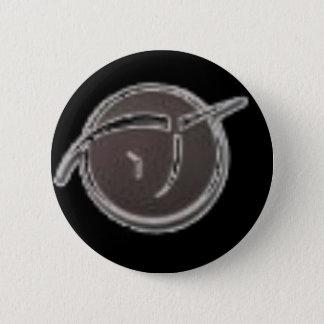 Invisible Pink Unicorn 6 Cm Round Badge