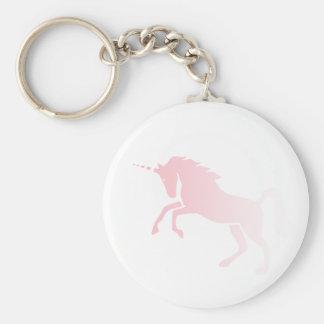 Invisible_Pink_Unicorn Basic Round Button Key Ring