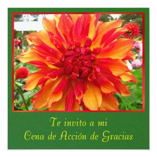 Invitación - Cena de Acción de Gracias Custom Announcements