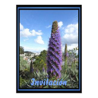 Invitación - El Orgullo de Madeira 6.5x8.75 Paper Invitation Card