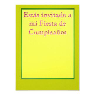 Invitación - Fiesta de Cumpleaños Invite