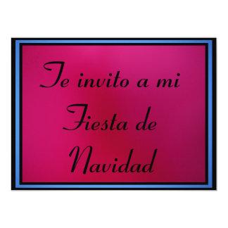 Invitación - Fiesta de Navidad 6.5x8.75 Paper Invitation Card