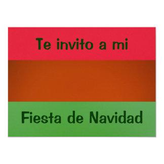 Invitación - Fiesta Navidad - Colors of México 6.5x8.75 Paper Invitation Card