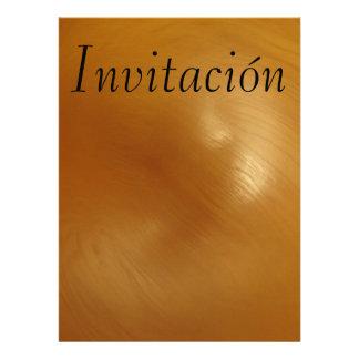 Invitación - Marrón Personalized Invitations