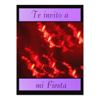 Invitación - Te invito a mi Fiesta 17 Cm X 22 Cm Invitation Card