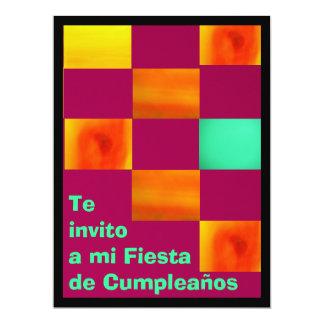 Invitación - Te invito a mi Fiesta de Cumpleaños Personalized Invites