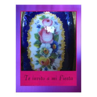 Invitación - Te invito a mi Fiesta Announcement