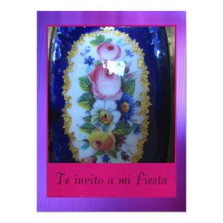Invitación - Te invito a mi Fiesta 6.5x8.75 Paper Invitation Card