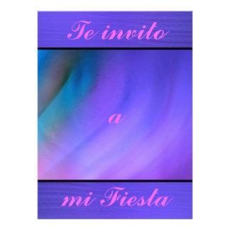 Invitación - Te invito a mi Fiesta Personalized Announcement
