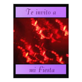 Invitación - Te invito a mi Fiesta Custom Invitation