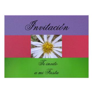 Invitación  - Te invito a mi Fiesta Personalized Invitations
