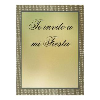 Invitación - Te invito a mi Fiesta Custom Announcements