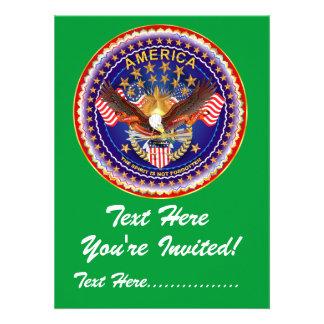 Invitation 5 5 X 7 5 America not forgotten