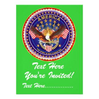 Invitation 6 5 x 8 75 America not forgotten
