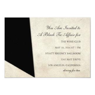 Invitation | Black Tie Affair