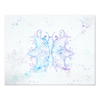 Invitation Butterfly Abstract